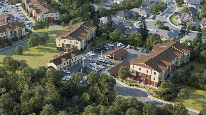 Leilani Ridge Apartments Rendering